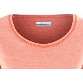 Columbia Trail Shaker Maglia a maniche corte Donna, zing heather